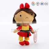 China manufacturer ICTI audit factory customized plush fairy doll stuffed cloth rag doll