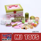 Classic wooden educational toy kids kitchen set Princess Seris