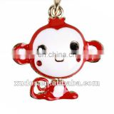 RED FUNNY MONKEY CELL PHONE/MOBILEPHONE STRAP/CHARM ACCESSORIES