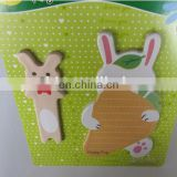 Cute Rabbit notepad personalized design magnetic memopad