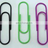 funny small size metal paper clip for books