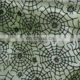 Spider Wed Flocked Sheer Organza