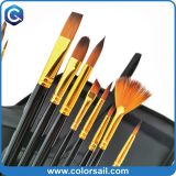 Bicolor Nylon All-Purpose Bristle Brushes – 15 Piece Set