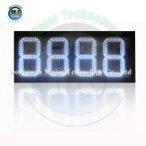 RF Wireless Control Outdoor 12inch Red 8.888 LED Gas Station Price Display