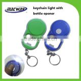 Custom key chain logo printing,popular mini plastic led key ring