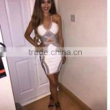 Hot Selling Brand New Women Sey Fashion Bodycon HL Bandage Dress 2015 New Arrival Ladies Designer Bodycon HL Bandage Dress Banda