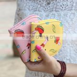 Charming women fashional PU Leather Wallet purse Billetera Cartera para dama Mujer