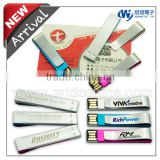printing metal usb Bookmarker with logo metal paper clips new quality product for wholesale