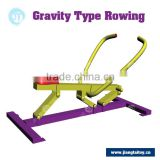 multifunction JT-8701B Rowing machine professional commercial Outdoor fitness gym equipment