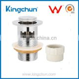 Watermark King Chun Free Samples basin pop up drain with overflow bathroom fitting sink stopper(K801)
