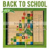 Eco gift stationery set school material