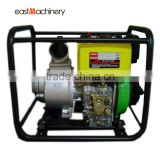 3 inch agricultural equipment irrigation diesel water pump with large fuel tank for Senegal