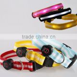 2016 Promotional Glow dog collars Flash collar, Pet supplies wholesale pet dog chain flash