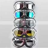 Motorcycle helmet glasses goggles windproof glasses black helmet glasses multicolor