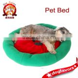 2014 hot new Red watermelon washable outdoor rattan dog bed wholesale