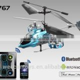 i767: Bluetooth 4channel RC helicopter, compatible with both iOS and Android system