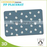 Big size Printed PP Plastic Placemat/Pool table mat