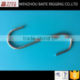 6MM S Meta Hook Zinc Plated S-Shaped Spring Hook Rigging Hardware In China