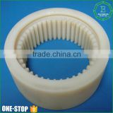 wholesale OEM and ODM machined ring gear wheel nylon big large plastic gear for industry