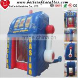 Customized promotional inflatable money machine