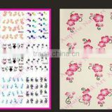 Fashion New Colors Water Transfer Nail Art Decorations Design Nails Stickers Feathers Decals 2015871                                                                         Quality Choice