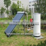 durable domestic 200L galvanized steel Split Pressurized Solar Water Heater (with heat pipe vacuum tube)
