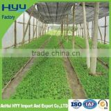 HYY China factory green house roof sun shade net, garden sun shade sail with uv treatment, shade mesh