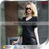 Wholesale Cheap Women Jersey Clothing Black Tops