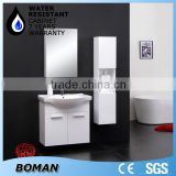 Wall Mounted Bamboo Bathroom Furniture