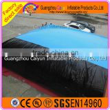 Safe Inflatable bike jumping air bag, New inflatable big air bag for stunts