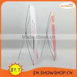 portable exhibition stands/60*160 eco X banner stand S-X11A