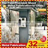 2014 hot sale professional customized metal london telephone booth
