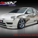 Fiber glass bodykits for FORD-06-FOCUS(3)-4DR-Style FS
