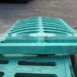 Composite material well sewer cover