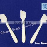 Alibaba China plastic cosmetic tool,cosmetic spatulas,cream spoon,mini xcoop