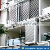 Australia Aluminium Louvre Sliding Screens/Aluminium Sliding Shutters for Apartment