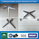 cast aluminum metal table legs for coffee table                                                                                                         Supplier's Choice