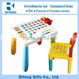 Promotion Newly Design Plastic Table Square With Chair