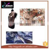 100% Silk Satin Fabric Digital Print Silk Scarf                                                                         Quality Choice