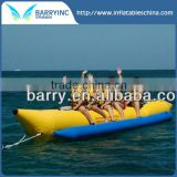 Durable banana water sled inflatable boat