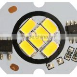 6W AC led pcb board, driverless LED replacement PCB Board, retrofit LED Board for bulb/ceiling light fixture