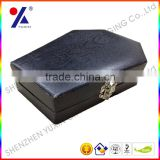Promotional jewelry gift packaging boxes with various design,and costomed logo,iron button