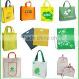 Silk Screen Logo Print Advertising Wholesale Eco Custom Cheap Promotion Polypropylene Non Woven Fabric Bag