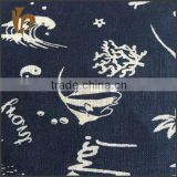 classical fabric printing indian clothing wholesale linen viscose fabric