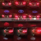 2016 New High Quality led car tail Logo Light, high bright logo laser projector light car logo light