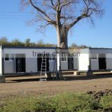 modular temporary 2 floor dormitory buildings use container house/Light Steel Structure Framing Prefabricated Container house