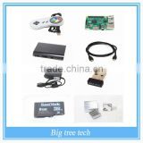 Raspberry Pi 2 Model B 1GB RetroPie USB Controller PC MAC Controller Micro SD Power Supply Case HDMI Emulation Station