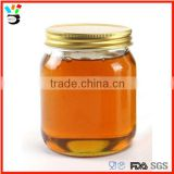 factory good quality empty glass honey jar packaging