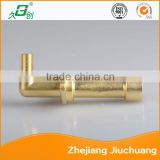 Cooktop Parts brass elbow main body in kitchen equipment