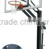 "72"" Inground adjustable outdoor basketball stands"